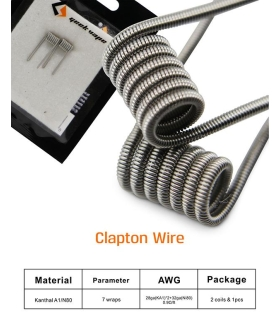 Clapton Wire 2 Coils & 1pcs Cotton Geekvape