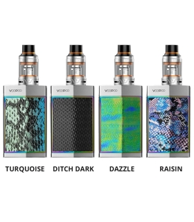 Too Kit with Uforce Atomizer Silver VOOPOO