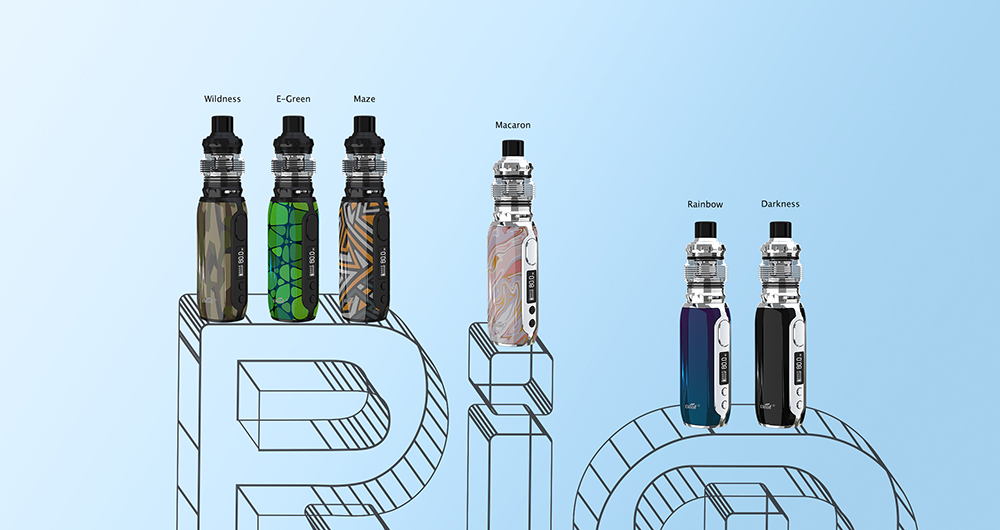 Eleaf istick rim with melo 5 atomizer