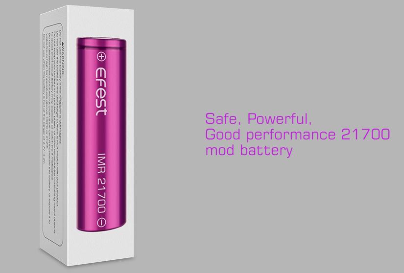 efest battery 21700