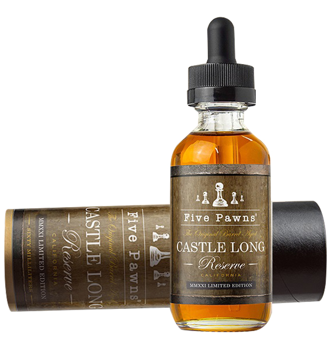Five Pawns Castle Long Reserve Limited Edition 30ml/60ml Flavorshot