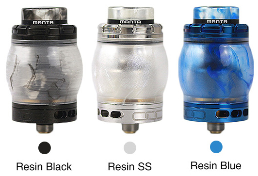 Resin Version Manta RTA | Avken Atomizer
