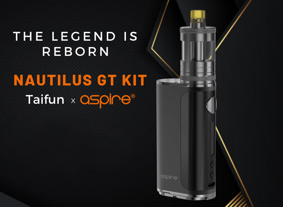 Aspire Nautilus GT Kit black