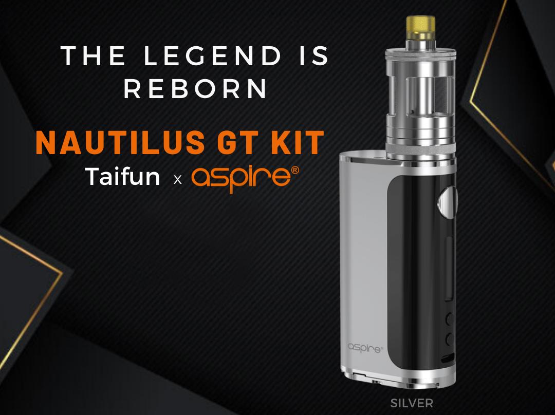 Aspire Nautilus GT Kit Stainless