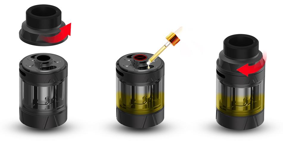 Augvape Intake Subohm Tank TPD Ατμοποιητής