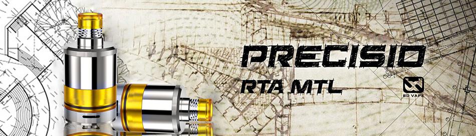 D Vape Precisio MTL RTA Ατμοποιητής
