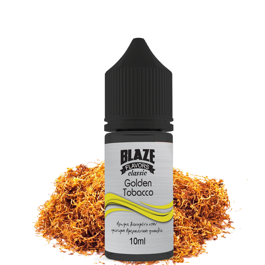 Blaze Classic Golden Tobacco 10ml Flavorshot