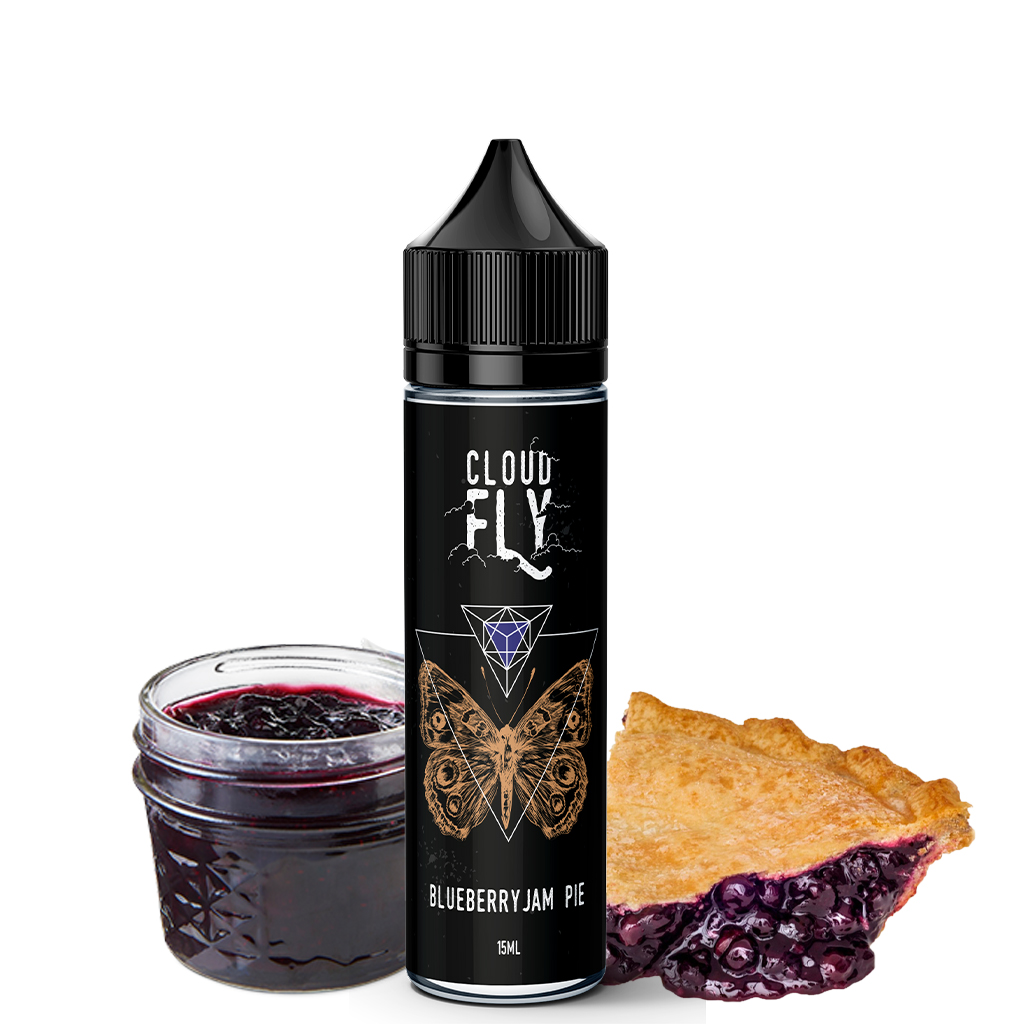 Blueberry Jam Pie Flavorshot Cloud Fly