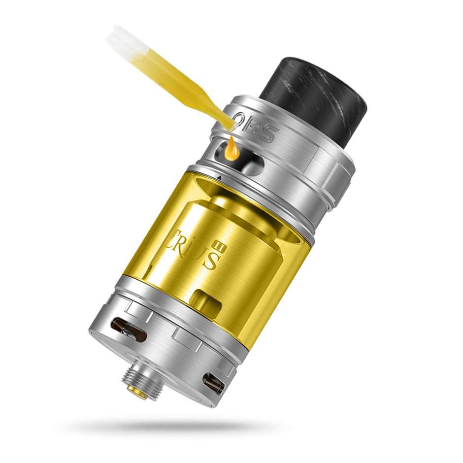 CRIUS II RTA DUAL GLASS TUBE OBS