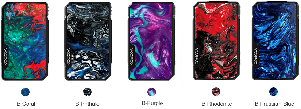 Drag Mini Mod Voopoo Colors - DRAG MINI BOX MOD VOOPOO 4400mAh