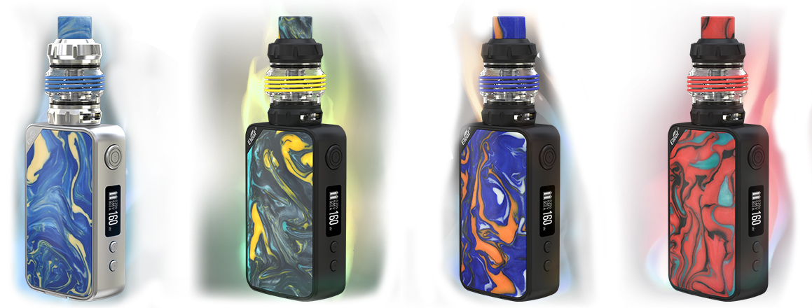Eleaf istick Mix Ello Pop - Nice Colors