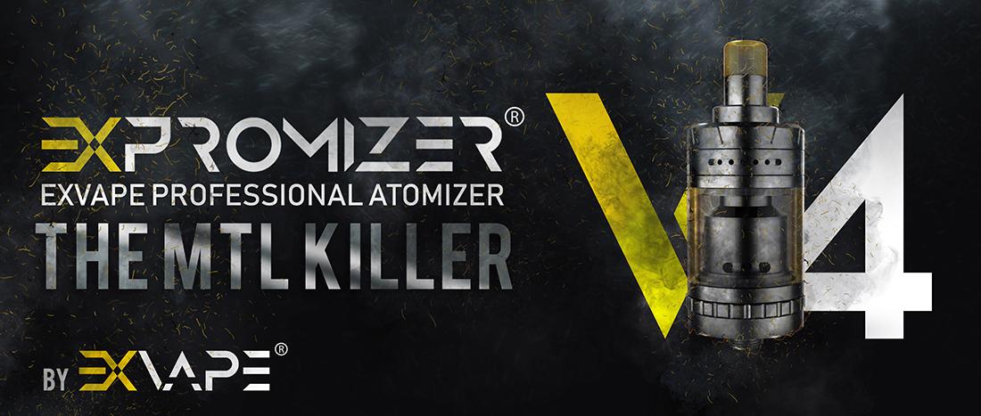 Exvape Expromizer V4 Ατμοποιητής