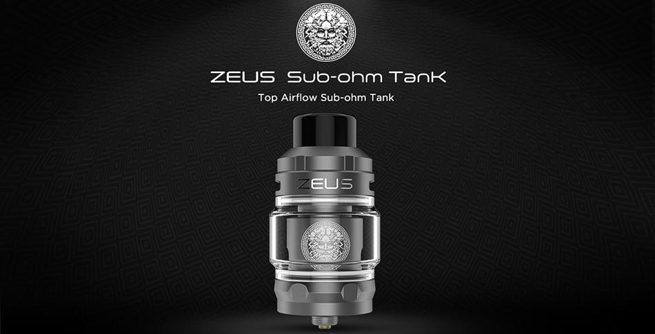 Geekvape Zeus Sub Ohm Tank Ατμοποιητής