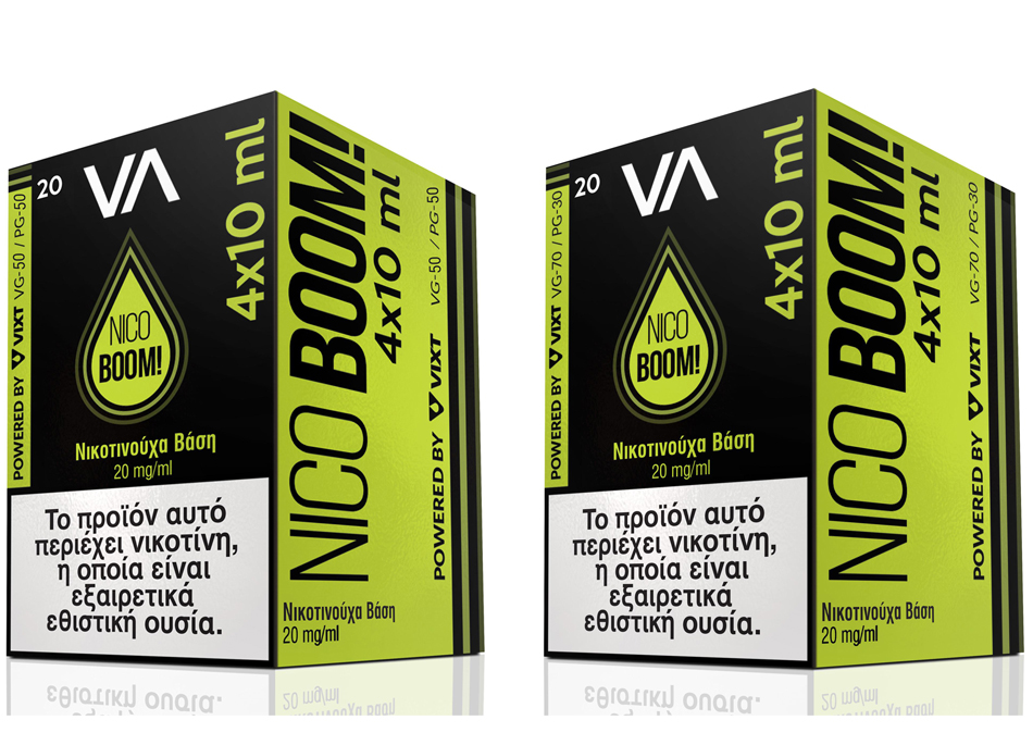 Innovation Nico Boom 20mg 10ml Nicotine Booster