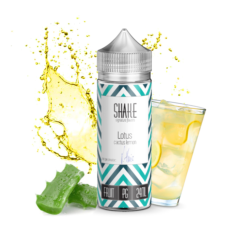 Journey Shake Lotus 120ml Flavorshot