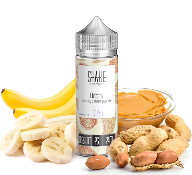 Journey Shake Oddity 120ml Flavorshot