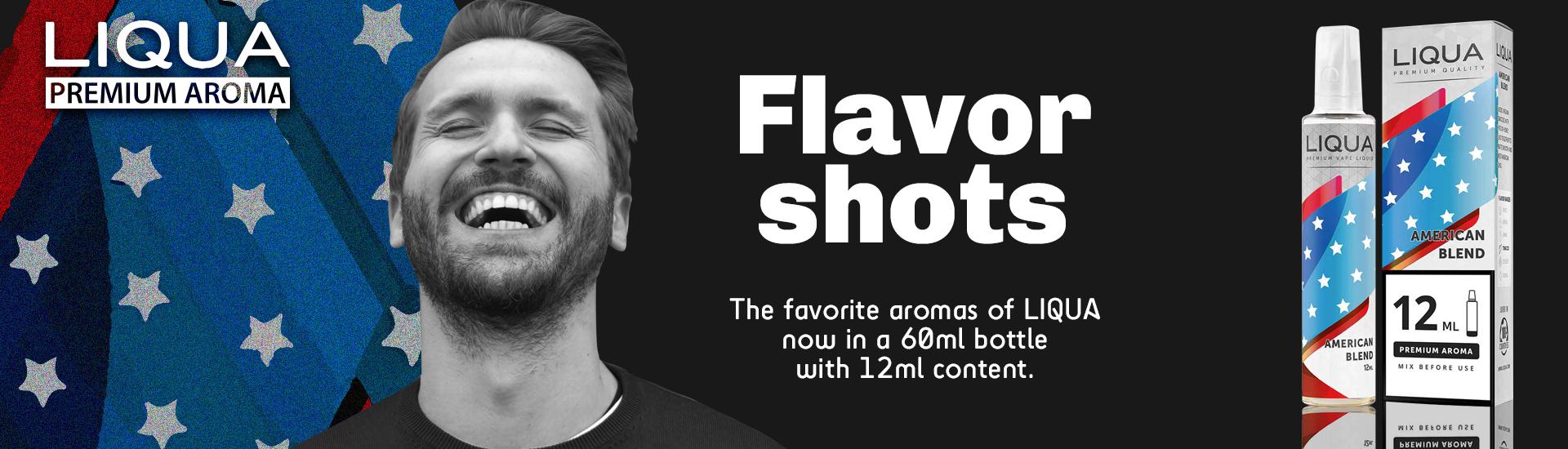 Liqua American Blend 12ml/60ml Flavorshot