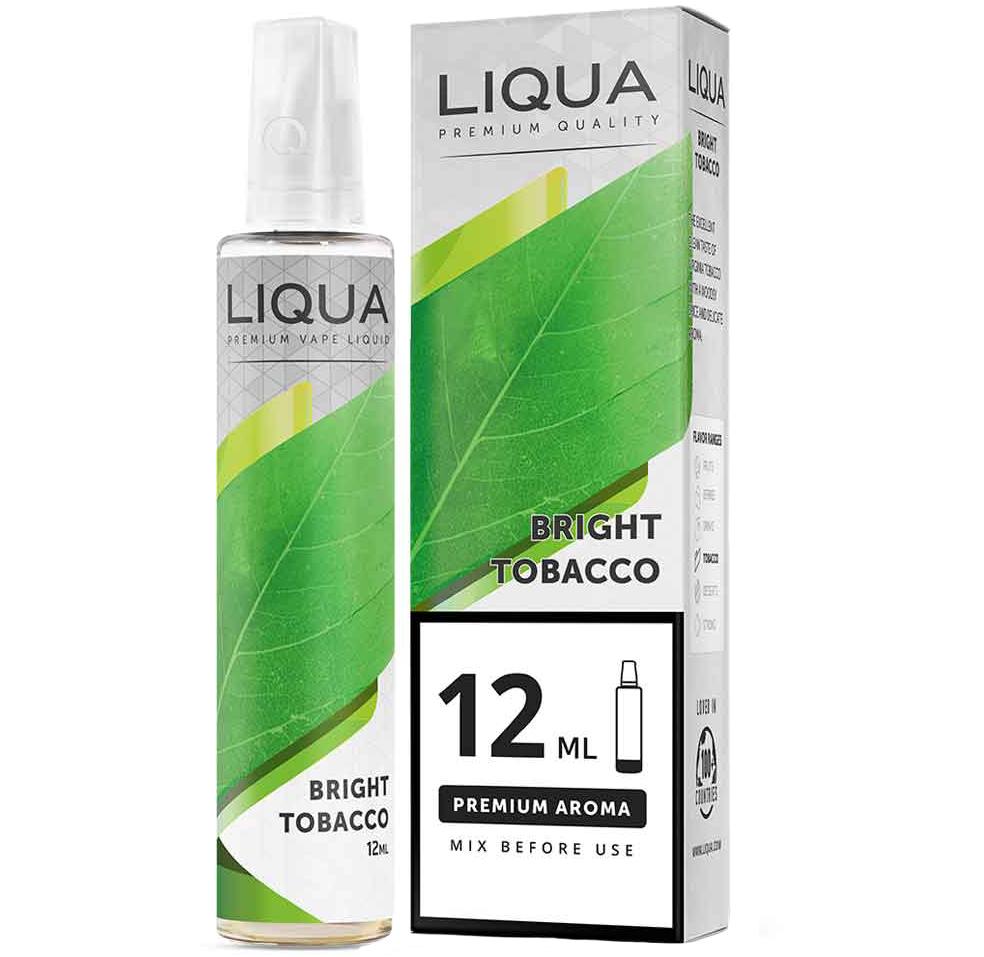 Liqua Bright Tobacco 12ml/60ml Flavorshot