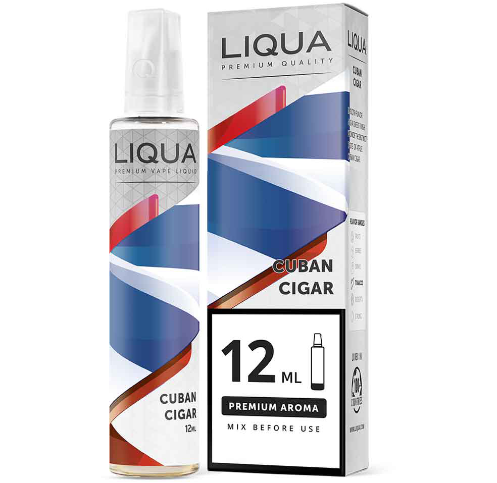 Liqua Cuban Cigar 12ml/60ml Flavorshot
