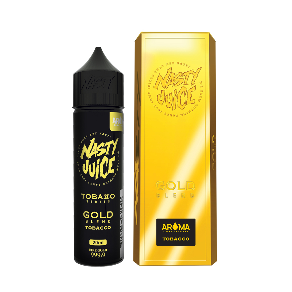 Nasty Juice Tobacco Series Gold Blend Flavorshots