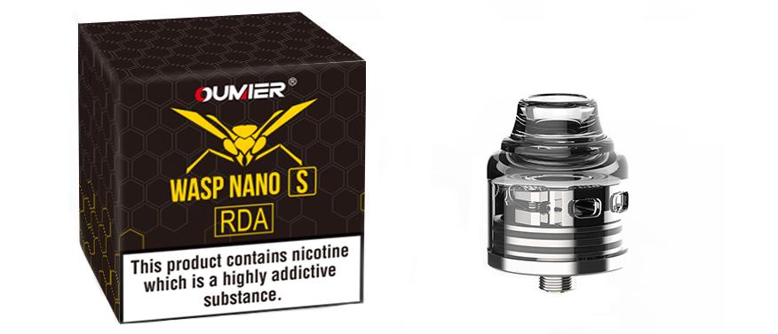 Oumier Wasp Nano S RDA Ατμοποιητής