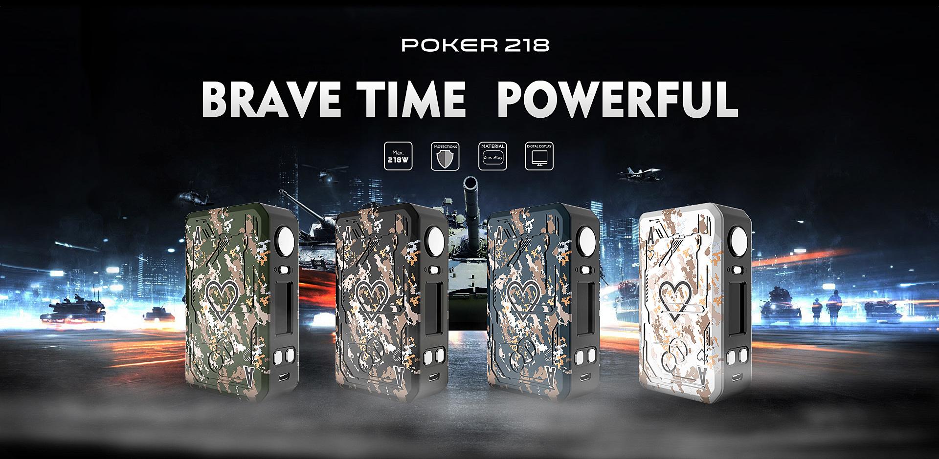 Poker 218 Mod TESLACIGS