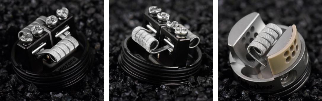 Quad Core Fused Clapton Prebuilt Coils(10τεμ - Αντίσταση Quad Core Fused Clapton Coils WOTOFO - 10τμχ