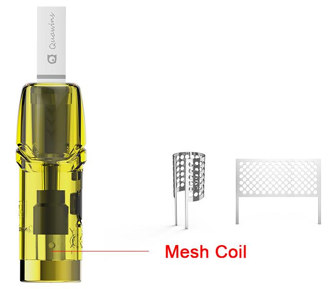 Quawins Vstick Pro Mesh Coil 3 Τεμ. Pod Δεξαμενή