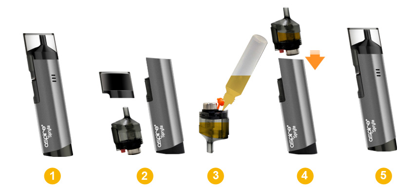 Spryte Pod Kit Aspire