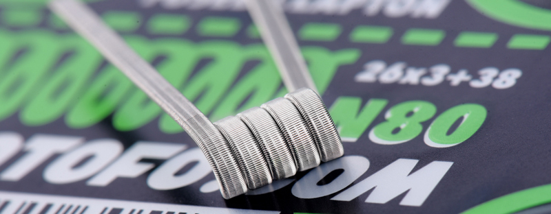Tri Core Fused Clapton N80 Wire