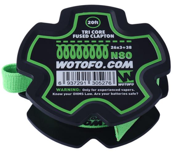 Tri Core Fused Clapton N80 Wire