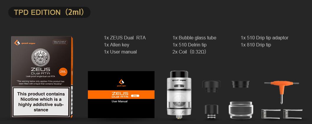 Zeus RTA dual geekvape