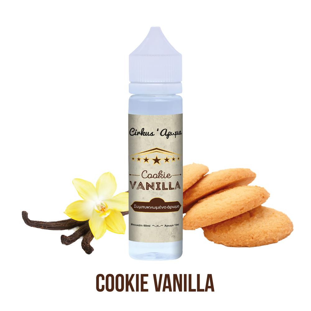 VDLV Authentic Cirkus Cookie Vanilla 15ml/60ml Flavorshot