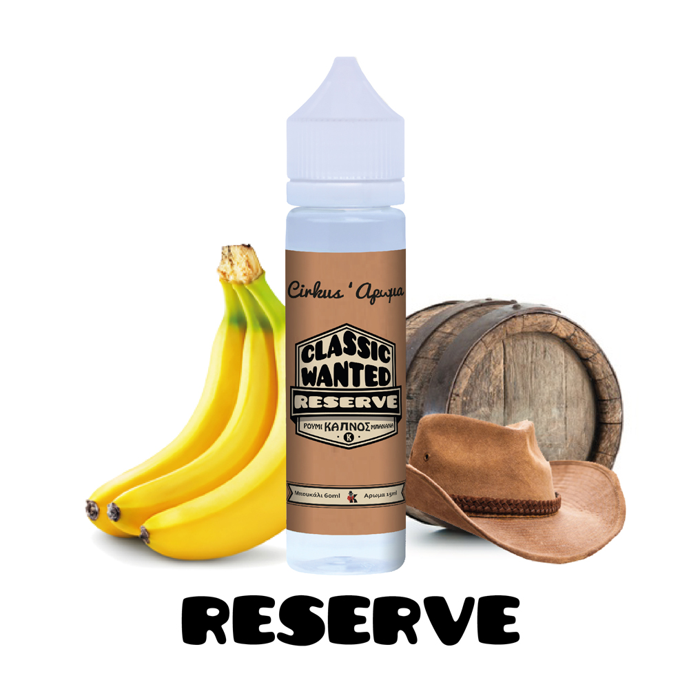 VDLV Classic Wanted Reserve 15ml/60ml Flavorshot