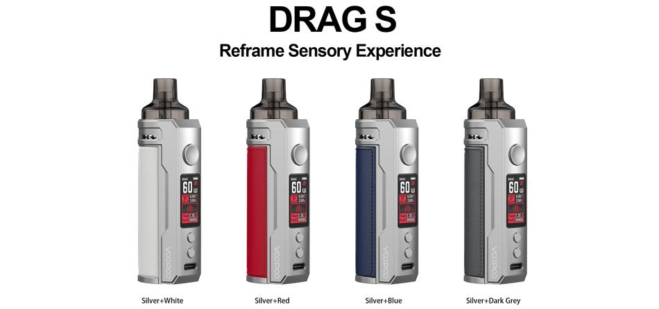 Voopoo Drag S Silver Series Pod Kit