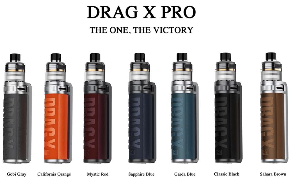 Voopoo Drag X Pro 100W 2ml Kit