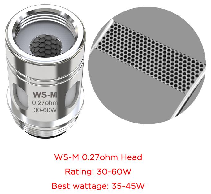 Αντίσταση Mesh Coil WS-M 0.27ohm Wismec