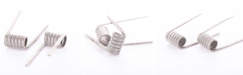 Wotofo Alien Wires 3 x 30G + 38g 0.5ohm Prebuilt 5τεμ. Coils