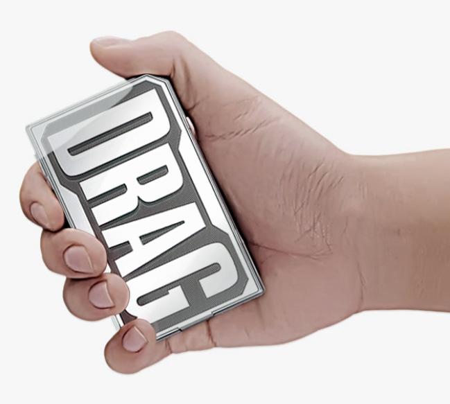 Drag box mod Carbon Fiber VOOPOO