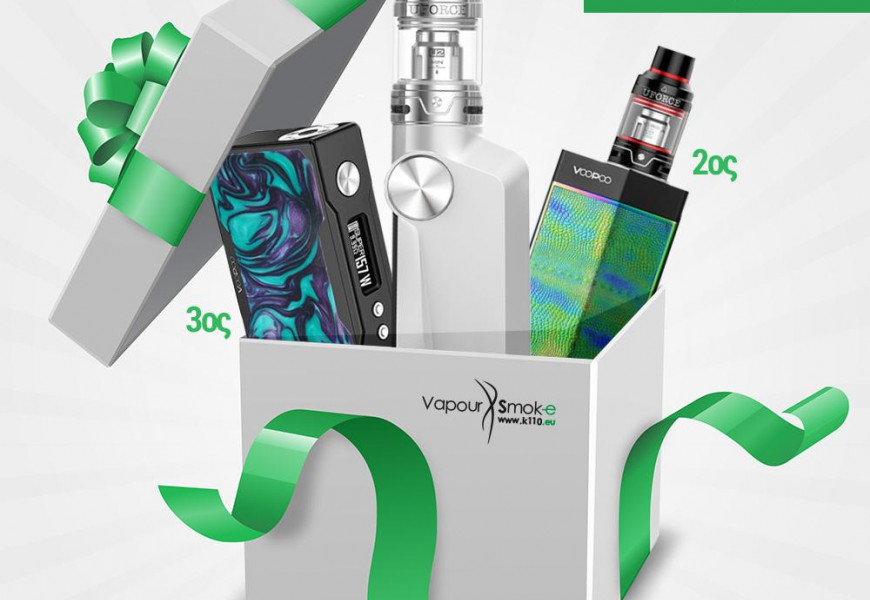 Giveaway VOOPOO products with 3 winners!
