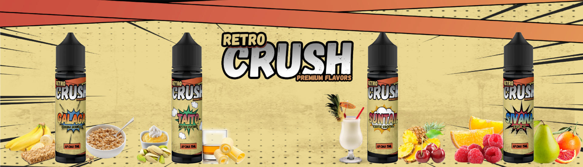 Retro Crush Flavorshots